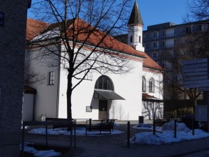 Jugendkirche Aussen