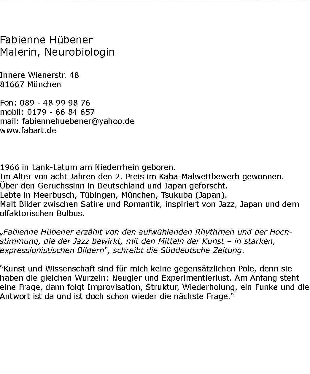 Huebener_Text