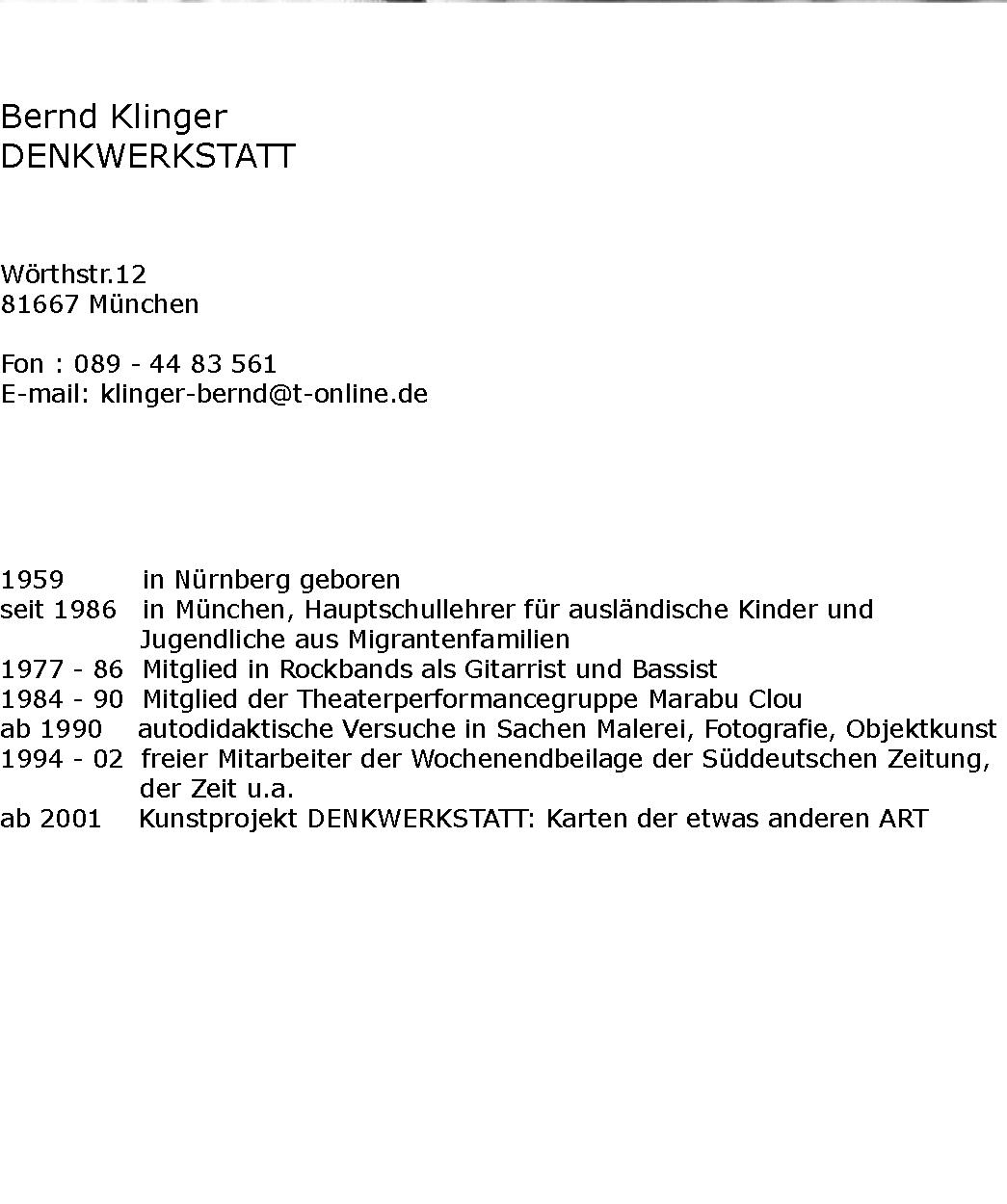 Klinger-Text